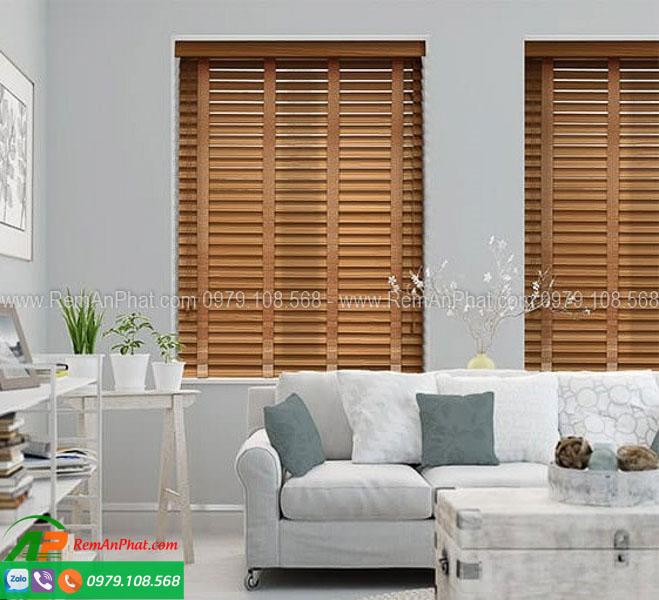Rèm gỗ sankaku mã SKK03