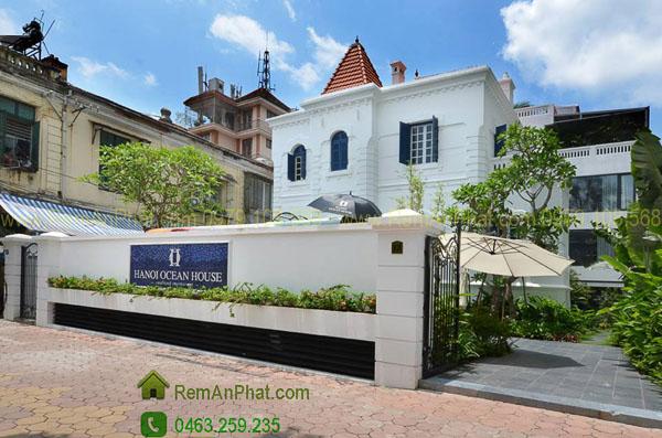 Rèm vải cao cấp tại Hanoi Ocean House