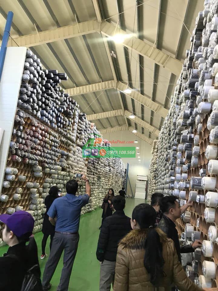 Thăm Quan Nhà Máy Sản Xuất Vải Rèm Cầu Vồng Tại Hàn Quốc