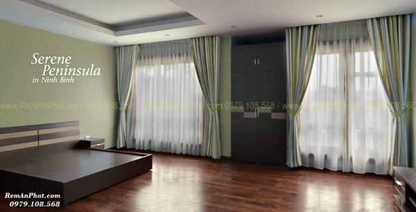 Thi công rèm cửa tại Resort Serene Penisulla