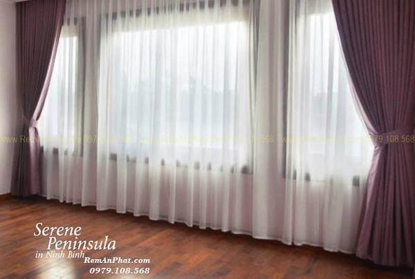 Thi công rèm cửa tại Resort Serene Penisulla Ninh Bình 035