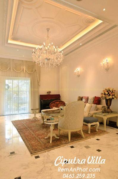 Rèm cửa đẹp cao cấp cho phòng khách