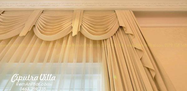 Lắp rèm cửa đẹp tại New Ciputra Villa C3