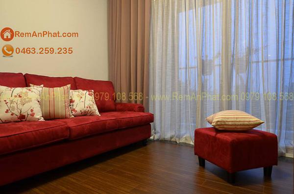 Rèm vải đẹp giá rẻ phòng khách