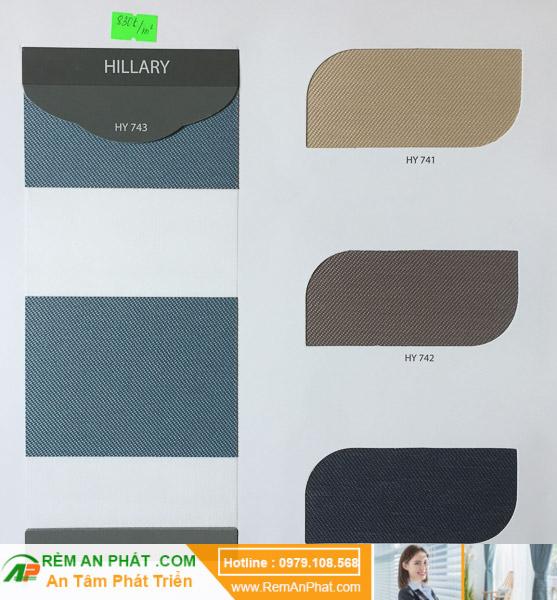 Các lựa chọn màu sắc cho rèm cầu vồng Hàn Quốc Modero mã Hillary