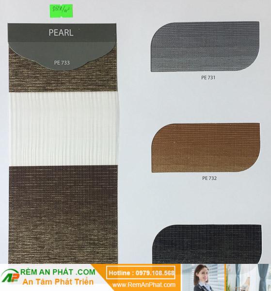 Các lựa chọn màu sắc cho rèm cầu vồng Hàn Quốc Modero mã Pearl