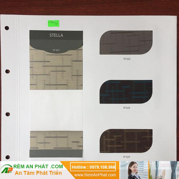 Các lựa chọn màu sắc cho rèm cầu vồng Hàn Quốc Modero mã Stella