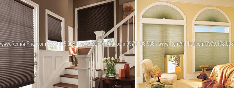 Hình ảnh rèm tổ ong cho cửa vòm